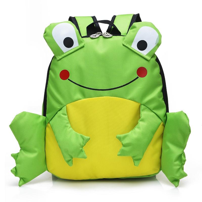 Cute New cartoon Frog School Bag Boys Backpack Kids Children School Bags preschool kindergarten Backpacks Child Escolar Mochilas бп atx 600 вт exegate atx xp600
