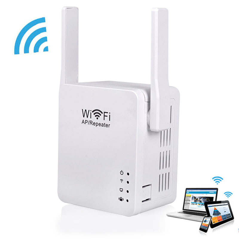 wireless network wifi repeater 2dbi antenna mini wifi signal booster amplifier 300mbps repetidor. Black Bedroom Furniture Sets. Home Design Ideas