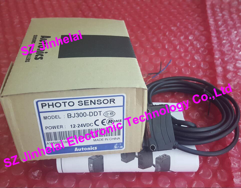 New and original BJ300-DDT, BJ300-DDT-P Autonics PHOTO SENSOR DC12-24V