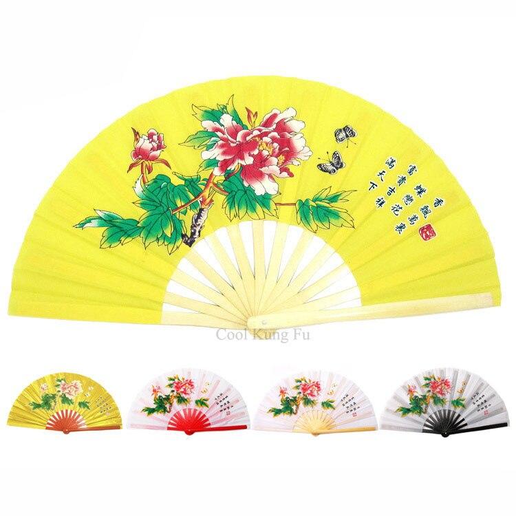 Bambou tai chi fan de kung fu ventilateur ventilateur de spectacle de danse dans Arts martiaux de Sports et loisirs
