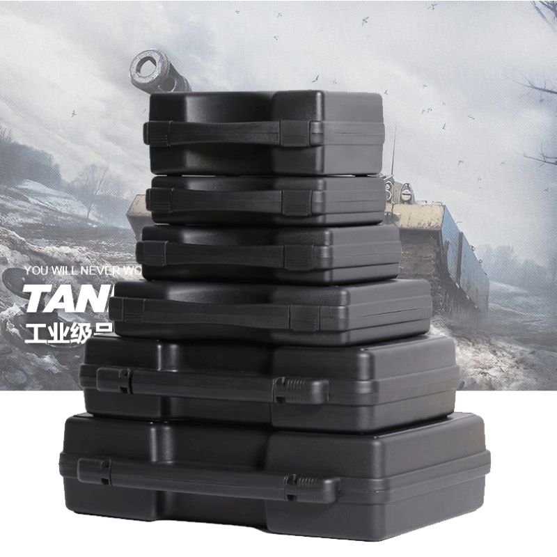 Portable Plastic Tool Case Safety Protection Equipment Instrument Case Dry Box Impact Resistant Outdoor Box With Pre-cut Foam