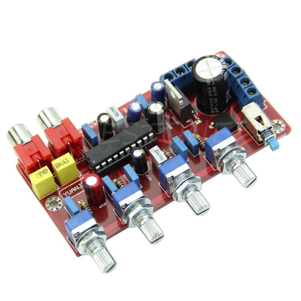 Hot Sale Lm1036 Luxurious Volume Control Completed And Tested Tone Integrated Circuit Board 1000uf 25v Pro Circuits