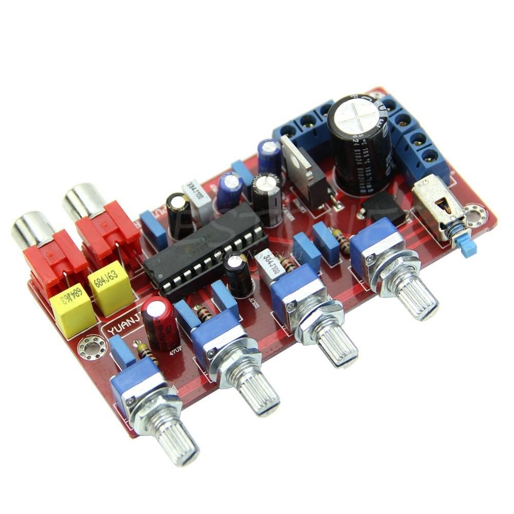 LM1036 di Lusso Controllo Del Volume Completato e Testato Bordo Tono 1000 uf/25 v Pro Circuiti Integrati