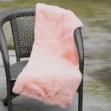 CX-D-135B Custom Size Handmade Real Rabbit Fur Carpet Rug In Livingroom  blankets 214a5e4ec