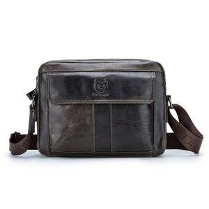 Image 4 - ABDB VINTAGE ของแท้กระเป๋าหนังผู้ชายกระเป๋าชายไหล่กระเป๋า Crossbody กระเป๋า Cowhide ความจุขนาดใหญ่เดินทาง Messenger B