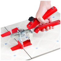 Accurate Tile Leveling System100 Clips + 100 Wedges+1Tile pliers Floor Wall Flat Leveler Plastic Spacers constructions tool
