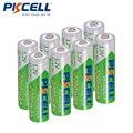 8 piezas/PKCELL AA batería NIMH 1,2 mAh 2200 V Ni-MH 2A de 1,2 voltios de baja auto-Descarga Durable baterías recargables AA Bateria Baterias