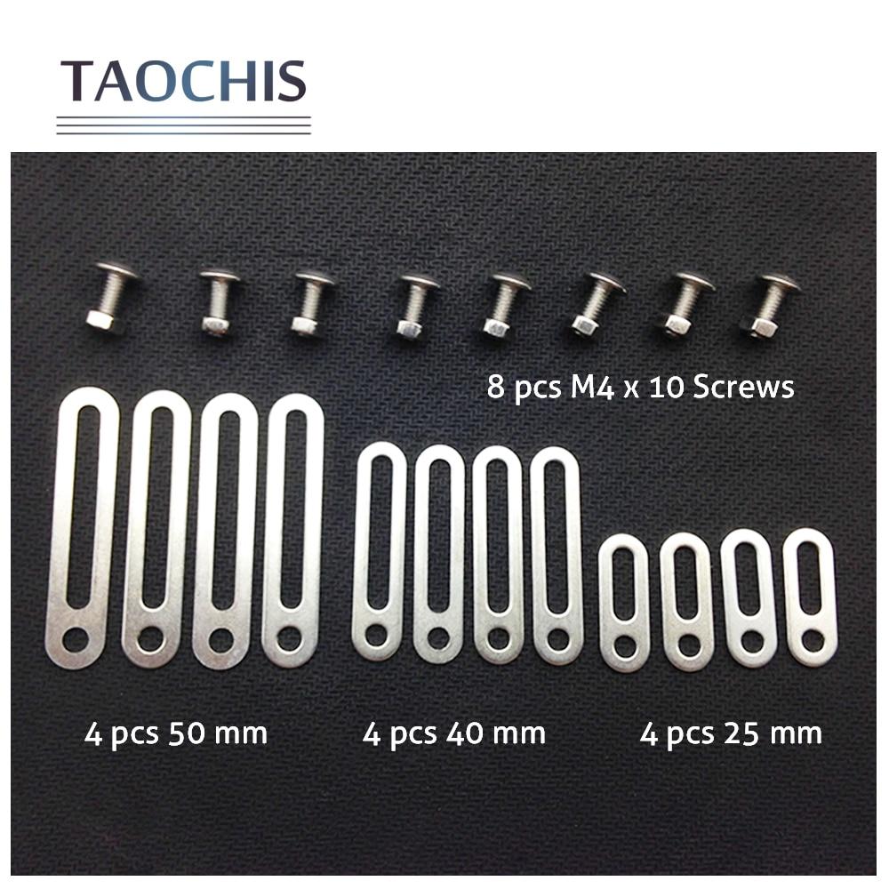TAOCHIS Head light Retrofit Tools Adapter Frame For Koito Q5 Hella Projector Lens Connecting Plates 25/40/50mm Modify Screws