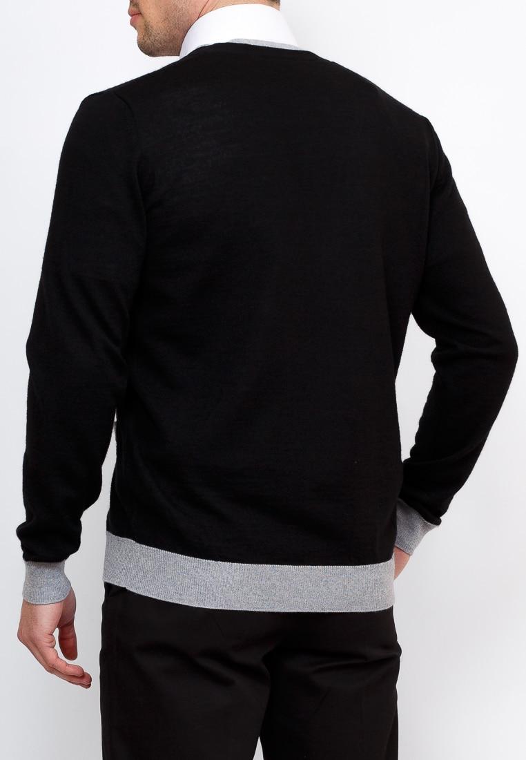 Cardigan male GREG G135 1 DH NN1 0 (black) Black
