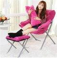 Excelente calidad de lujo sofá perezoso plegable silla de la computadora silla del ocio puede ser utilizado en sala de dormitorio envío libre