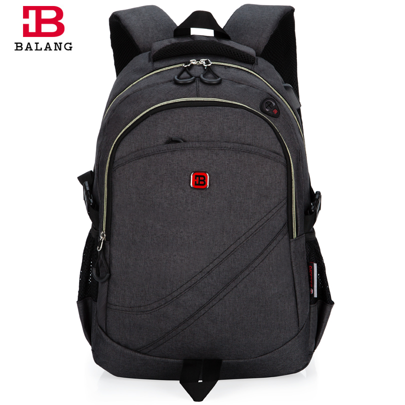 ФОТО  BALANG Brand Unisex High Quality Laptop Backpack School Bags for Teenagers Girls Boys Travel Casual Bags