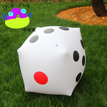 Jumbo Inflatable Dice Outdoor Fun Toy Sport Inflated Multi-Color Dice Children Birthday Party Favors Family Camping PlayToolL557