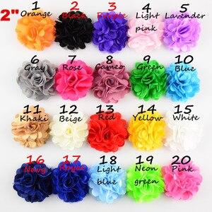 Image 3 - 100 unids/lote gran oferta chica encaje tejido de satín de flores para el pelo banda accesorio para el cabello de niños envío gratis TH54
