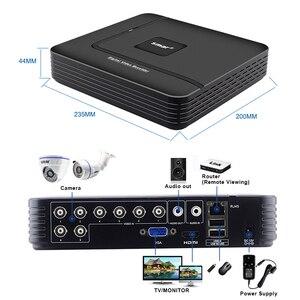 Image 4 - Smar 720P 1080P kamera AHD zestaw 8 sztuk na zewnątrz System kamer CCTV kamera bezpieczeństwa na podczerwień System monitoringu wizyjnego 8CH DVR zestawy
