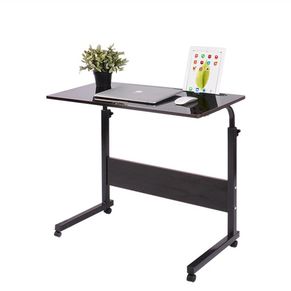 Computer Tisch Einstellbar Tragbare Laptop Schreibtisch Drehen Laptop Bett Tisch kann Angehoben Stehenden Schreibtisch 60*40CM