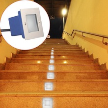1W LED Underground Light IP65 LED Ground Lamps Buried Light Pathway Path Step Stair Wall Garden Yard Lamp