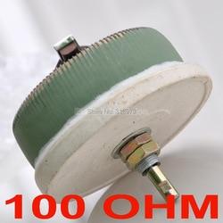 100 W 100 OHM potencjometr drutowy o dużej mocy  reostat  rezystor zmienny  100 watów. w Potencjometry od Części elektroniczne i zaopatrzenie na