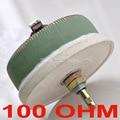 100 w 100 OHM Ad Alta Potenza A Filo Potenziometro, Rheostat, Resistore Variabile, 100 Watt.