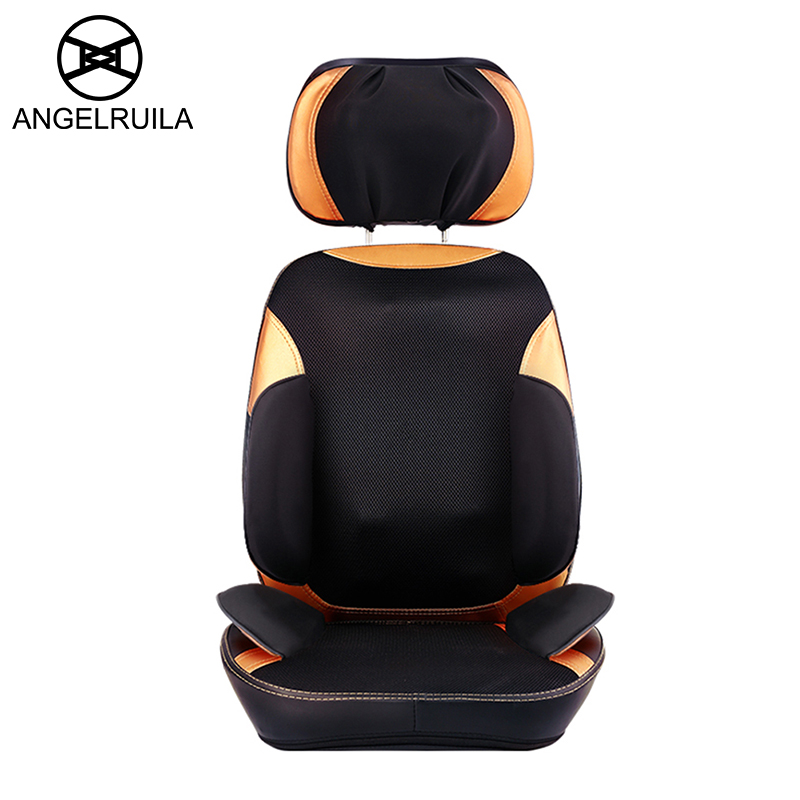 Angelruila Electric Massage Chair Full Automatic Multifunctional Body Massage Kneading Back Cushion Elderly Cervical Vertebra 240337 ergonomic chair quality pu wheel household office chair computer chair 3d thick cushion high breathable mesh