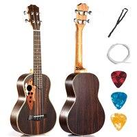 Concert Tenor Ukulele 23 26 Inch Hawaiian Guitar 4 Strings Ukelele Guitarra Handcraft RoseWood Uke Musical Instruments