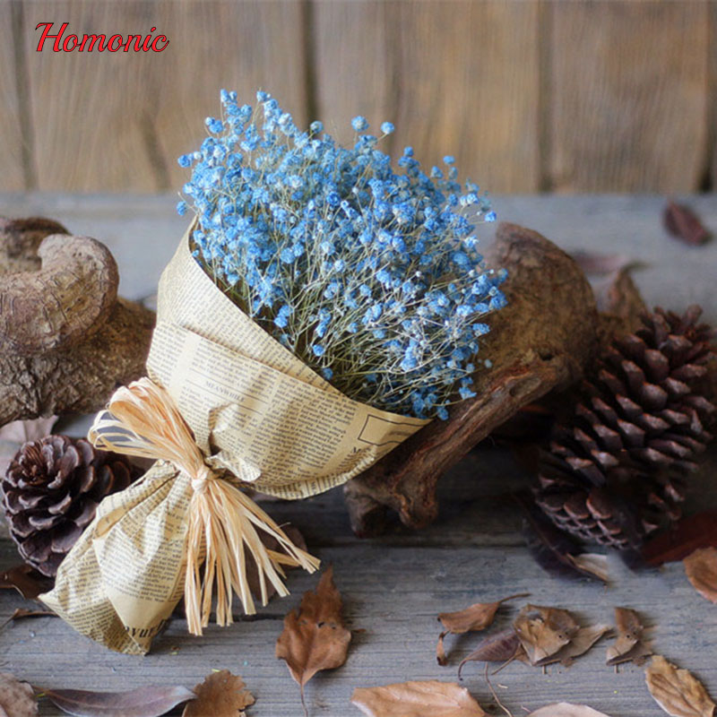 1Bouquet mini gedroogde ingedrukt bloem kunstmatige gedroogde - Feestversiering en feestartikelen - Foto 5