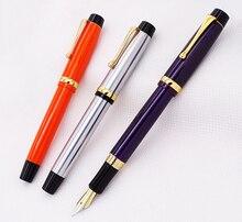 цена на Jinhao 15 Advanced Fountain Pen Medium Nib 0.7mm with Converter Metal Luxurious Ink Pens for Office,business,home,school