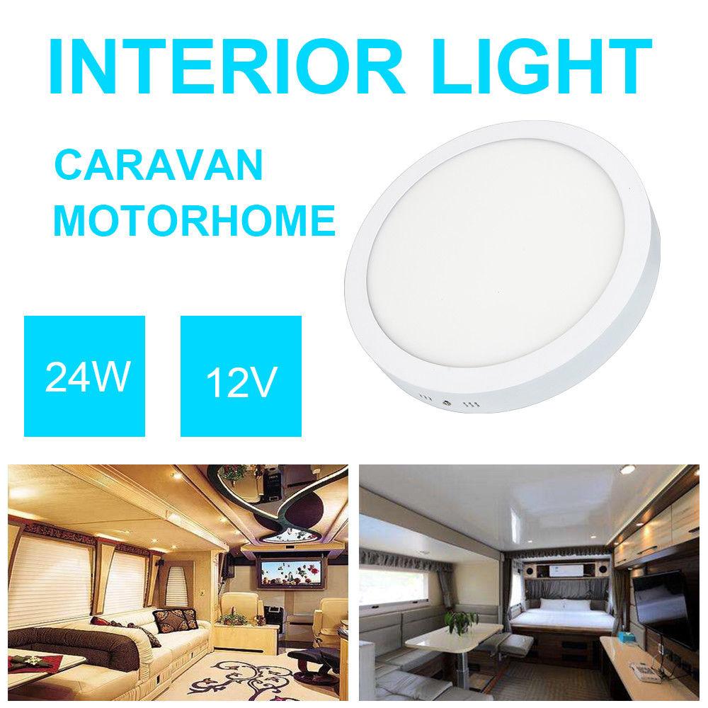 Led Interior Light Roof Ceiling Lamp For Car Home Rv Camper Motorhome Van 12 24v Sslawcorp Com