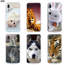 Painted Cover For Samsung Galaxy A2 Core Case Silicone Soft TPU Cases For Samsung A2 Core Phone Bags Cute Animal Shell(China)