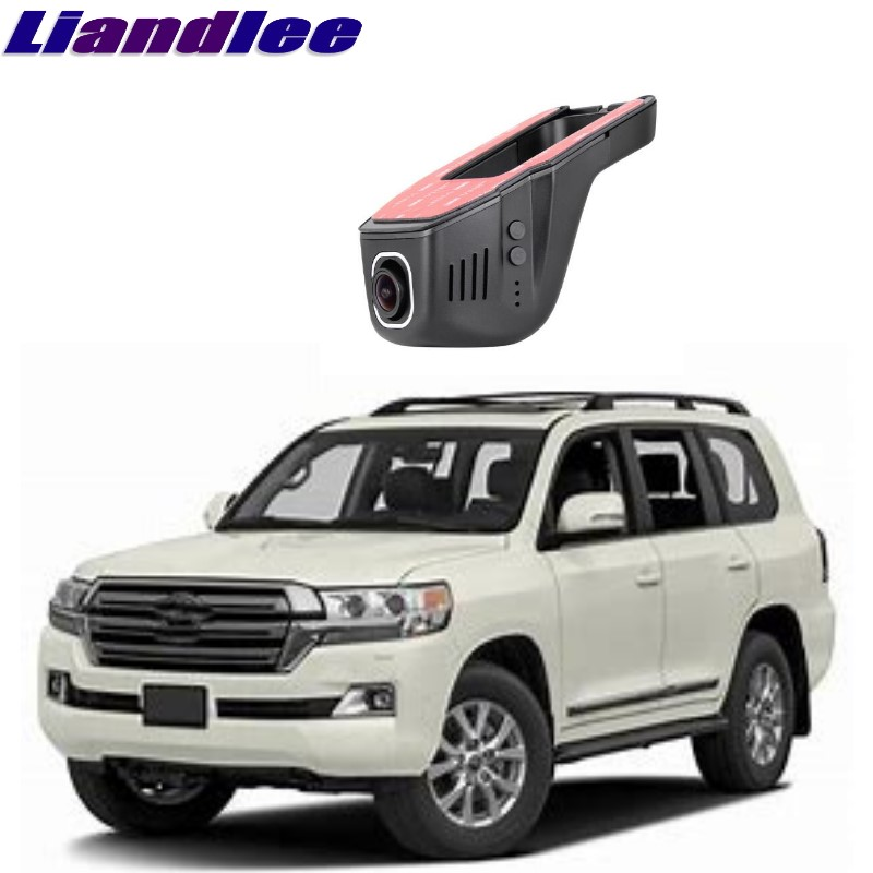 Attent Liandlee Voor Toyota Bj/land Cruiser J200 2007 ~ 2018 Auto Road Record Wifi Dvr Dash Camera Rijden Video Recorder