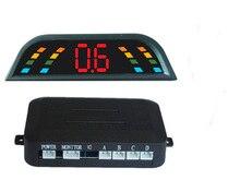 Kit de Sensor de Aparcamiento LED Display 4 Sensores del coche para todos los coches Inversa Monitor de Reserva Del Radar del Sistema de Asistencia