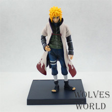 WVW 14.5CM Hot Sale Anime Heroes Naruto Namikaze Minato Model PVC Toy Action Figure Decoration For Collection Gift Free shipping