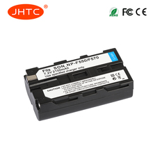 JHTC 1Pcs 2100mAh NP-F550 NP-F330 NP-F530 NP-F570 NP-F730 NP-F750 Battery  for Sony CCD-SC55 CCD-TRV81 MVC-FD81