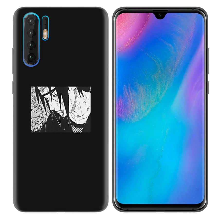 Custodia in Silicone per Huawei P40 P30 P20 Pro P10 Lite Compagno 10 20 Lite Pro P Smart Z Più 2020 alloggiamento della copertura Naruto Anime Estetica