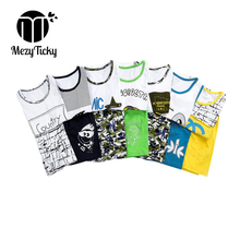 Summer Boutique Children T shirt shorts girls Cartoon cotton vest Toddler boys sports clothes kids tracksuit baby clothing sets недорого