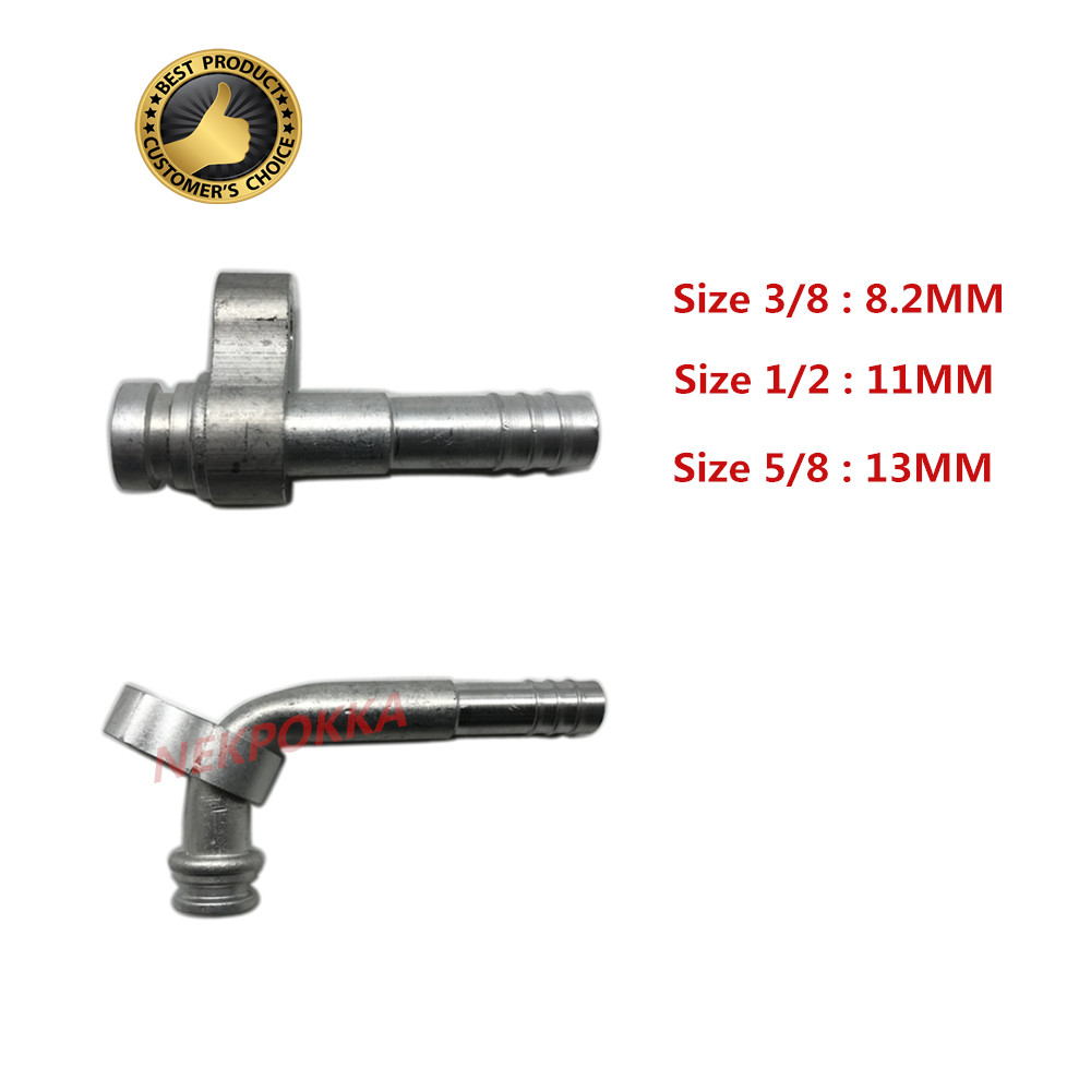 Hose joint for automobile air conditioner,Air cooling joint,R134 fitting with Plate,Air cooling Fitting with Plate
