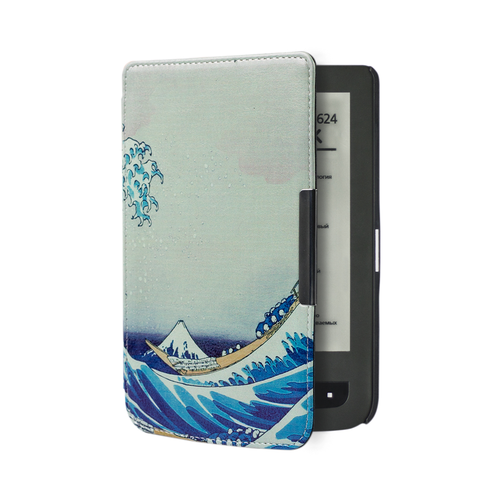 цена New PU Leather Cove protective Case For Pocketbook 614 plus,625 basic touch 2,626/626 plus ereader+screen protector+stylus