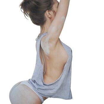 Σούπερ Σέξι Μπλουζάκι Αμάνικο καλοκαιρινό Έξτρα Αποκαλυπτικό Προκλητικό Γυναικείες Μπλούζες Ρούχα MSOW