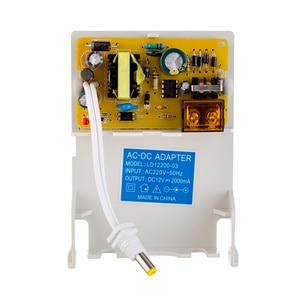 Image 2 - ESCAM Adaptador de fuente de alimentación para cámara de seguridad CCTV, impermeable, para exteriores, 12V, 2A, cámaras de vigilancia de seguridad, conexión de cámara de alimentación