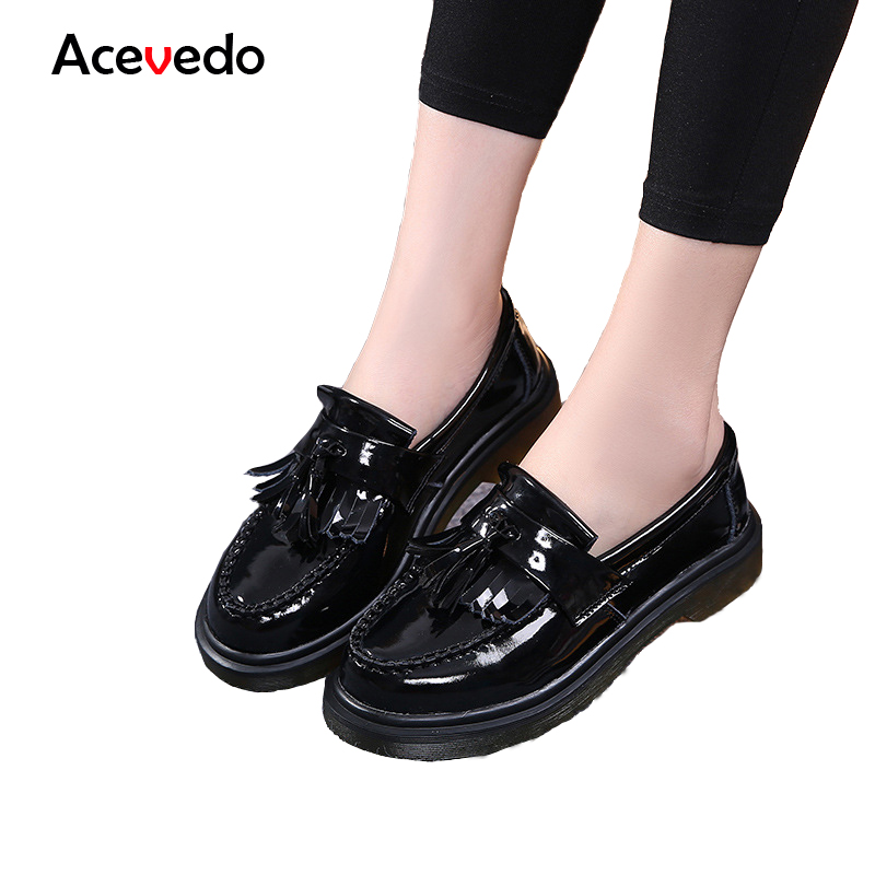 Women Shoes Flat 100% Authentic Leather Round toe Lace up Ladies Shoes Oxfords Flats Woman Moccasins Female Footwear women ankle boots 2016 round toe autumn shoes booties lace up black and white ladies short 2017 flat fashion female new chinese