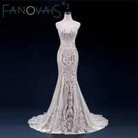 Laço do vintage sereia vestido de casamento turquia vestido de novia lantejoulas renda pura vestidos de noiva robe mariee 2019 gelinlik casamento