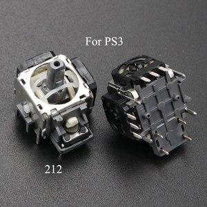 Image 4 - YuXi 2 قطعة/الوحدة استبدال 3pin 4pin عصا التحكم ثلاثية الأبعاد التناظرية قبضة عصا لسوني PS3 المراقب المالي