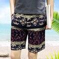 T aliexpress china cheap wholesale 2016 summer new Male print shorts beach casual slim knee-length shorts summer shorts capris