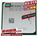 original AMD Athlon II X2 215 2.4 GHz Dual-Core Socket AM3 Desktop CPU Processor scattered pieces Dual-core processor
