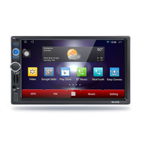7 Inch 2 Din Multimedia For Android 6 0 1024 600 Capacitive Screen Function Car MP5