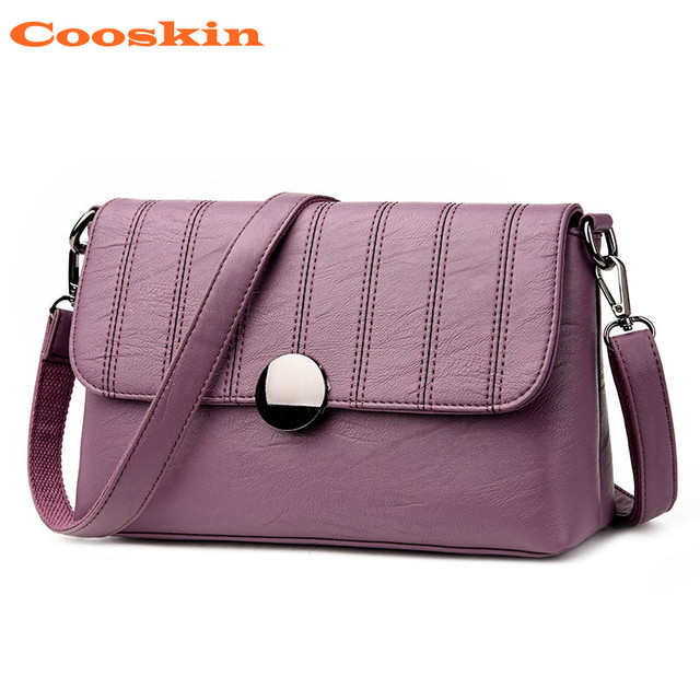 d6515f8a4037 Purple Black Pink Grey Wine Red Satchels Fashion Messenger Bag Lady  Crossbody Bag Women Bag