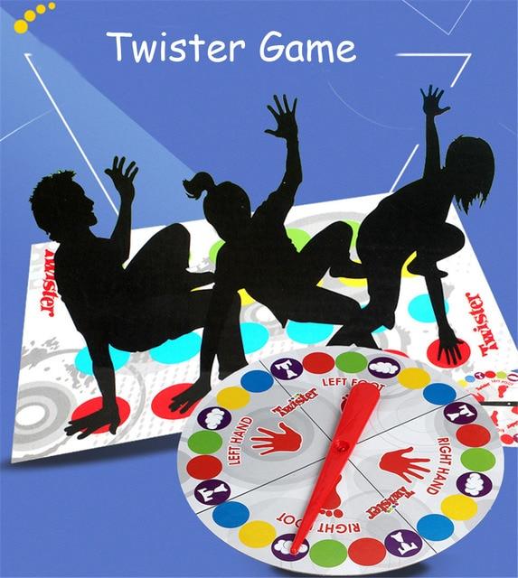 2017 Divertido Juego Twister Juego De Mesa Que Te Ata En Nudos Para