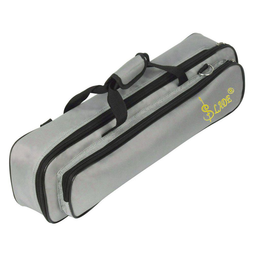 SEWS-SLADE Padded Flute Bag Backpack Soft Case Lightweight with Carry Handle Shoulder Strap