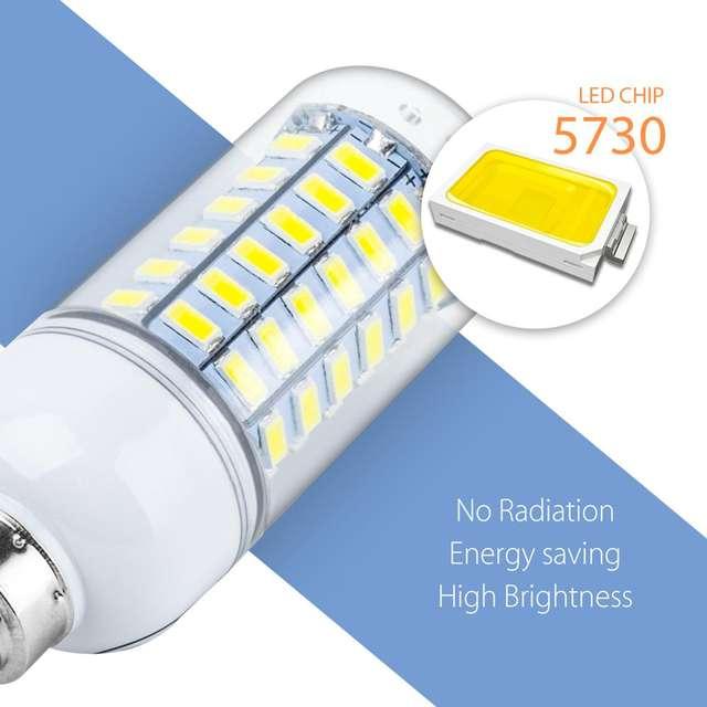 LED Lamp Bulb Corn Lamp Lamp Lighting 240V SMD 5730