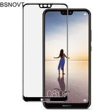 2pcs Screen Protector Huawei P20 Lite Glass Tempered sFor Full Coverage Nova 3E Phone Film