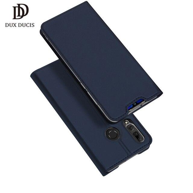 DUX DUCIS Flip funda para Huawei P Smart Plus 2019 libro billetera de cuero para Huawei P inteligente + (2019)/P Smart Z PSmart Coque